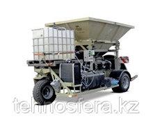 Вальцовые плющилки влажного зерна передвижные c прессом СР1 Romill