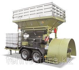 Вальцовые плющилки влажного зерна передвижные c прессом CP2 Plus Romill