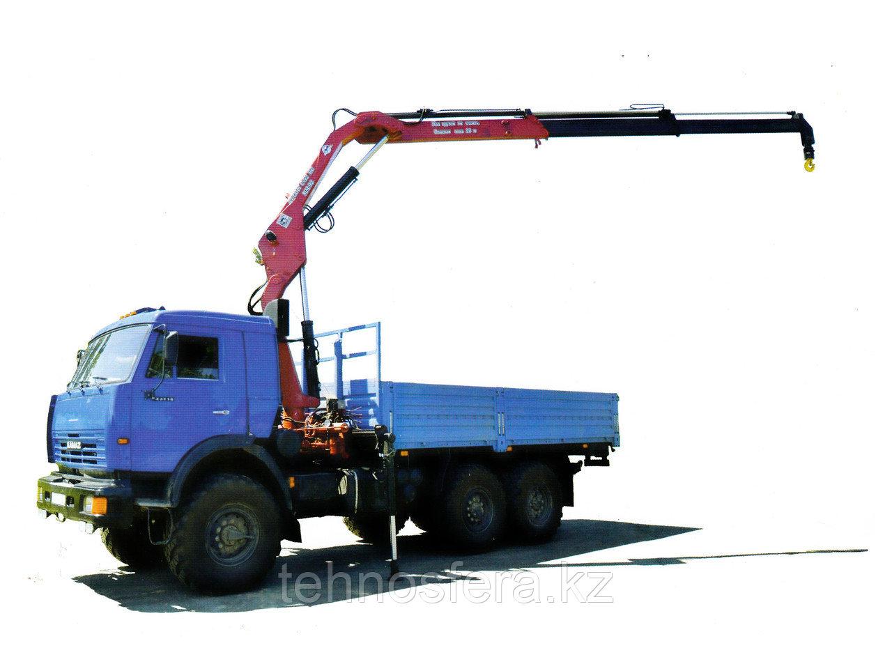 Гидроманипулятор Атланс-С для грузовых автомобилей