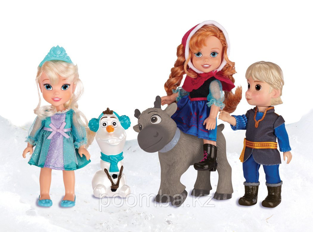 """Игровой набор """"Холодное Сердце"""" - 5 героев, 15 см"""