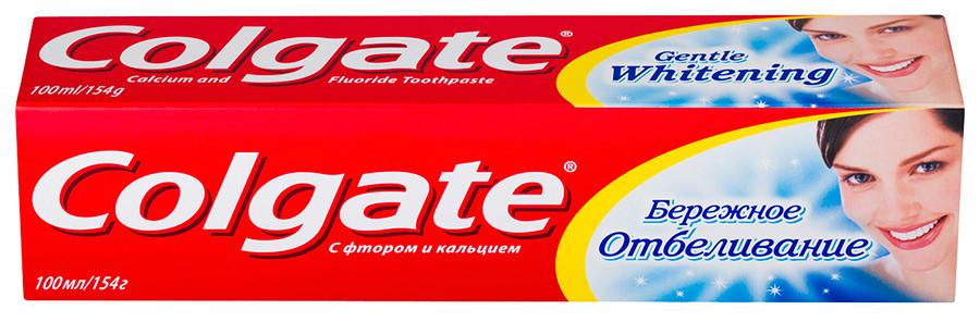 Зубная паста Colgate Бережное отбеливание 100мл