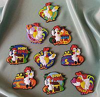 """Прикольные """"Петушки"""" - магниты на холодильник, фото 1"""