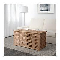 Стол-сундук ХОЛ акация ИКЕА, IKEA