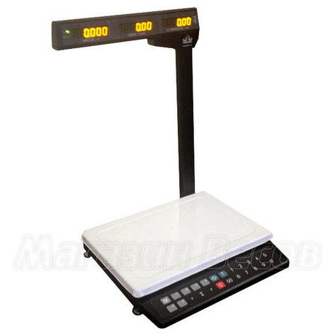 Автономные торговые весы МК 15.2 ТН21, фото 2