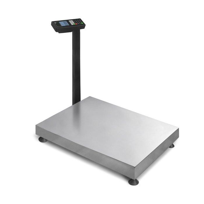 Товарные весы c большой платформой расчетом стоимости с прямоугольной стационарной стойкой TB М 600.2 Т3