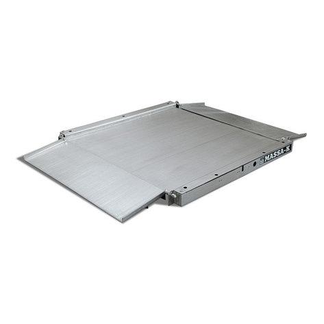 Низкопрофильные модули взвешивающие 4D для промышленных весов 4D LA.S 4 1000, фото 2