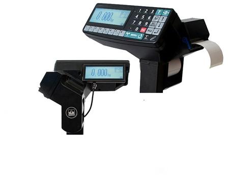 Терминал регистратор с печатью этикеток и чеков R2P, 2 индикатора