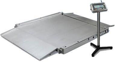 Весы низкопрофильные (пандусные) 4D LA.S 4 2000 A
