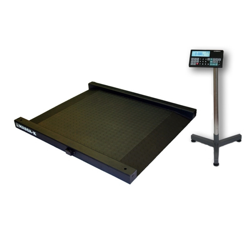 Весы моноблочные (накатные) 4D LM 1500