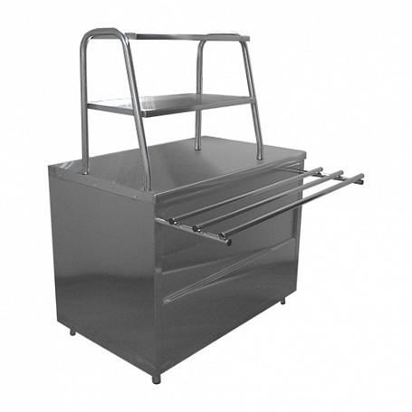 Стол нейтральный для горячих напитков Лира-Профи СГН/ЛП  (1120х705(1030)х1462(1482) мм, 220 В)