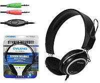 "Наушники ""Headphones+ microphone OVLENG OV-L508 MV ,Ø 40mm,32Ω ± 15 ,100± 3 dB,20-20,000Hz,50mW,2m"""
