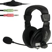 "Наушники ""Headphones+ microphone OVLENG OV-L 750 MV ,Ø 40mm,32Ω ± 15 ,100± 3 dB,20-20,000Hz,50mW,2m"""