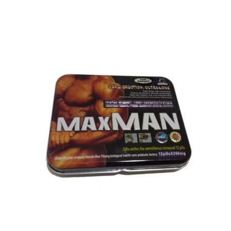 Возбудитель MaxMan (12 таблеток + 12 витаминов)
