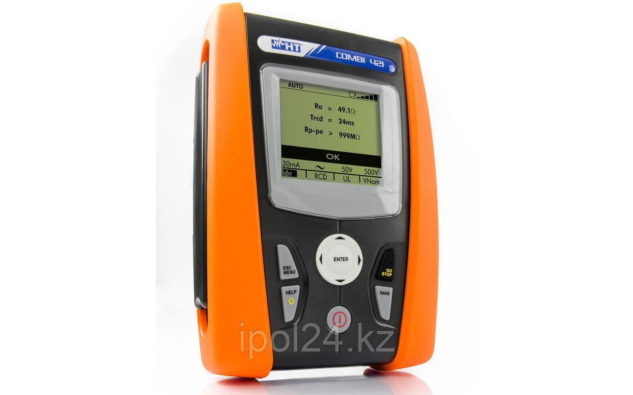 Многофункциональный прибор для испытаний на частных и промышленных систем с анализом сети COMBI421