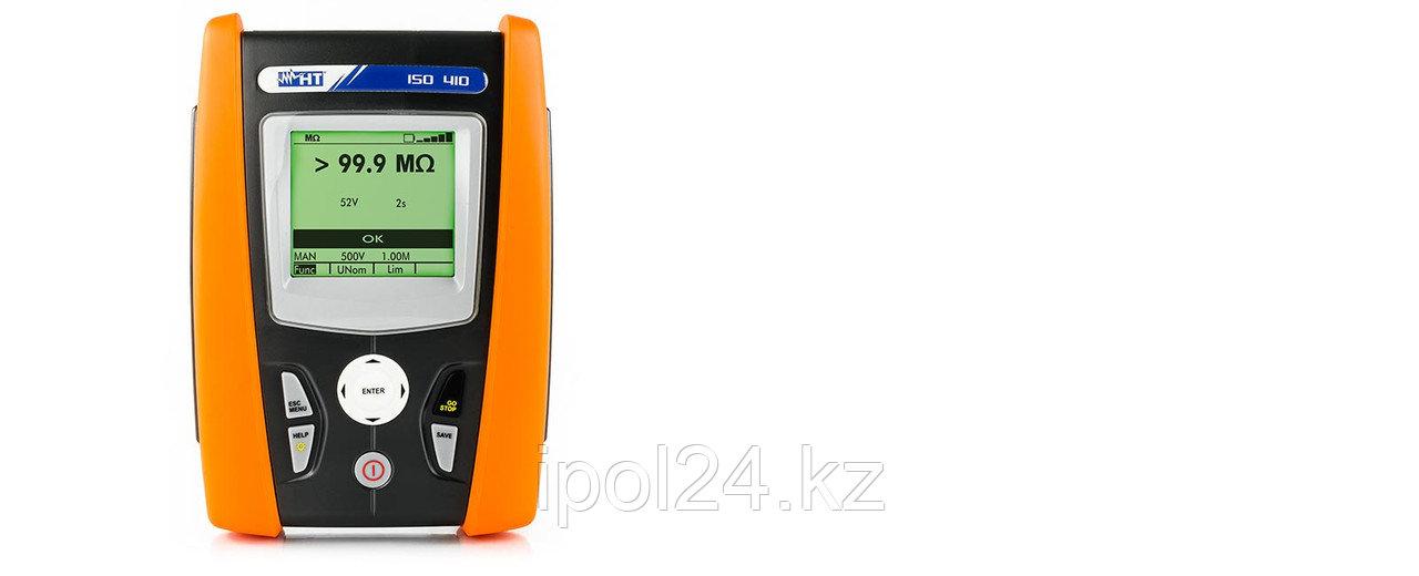 Портативный измерителный прибор сопротивления изоляции для мер до 1000В и непрерывности защитных проводников и