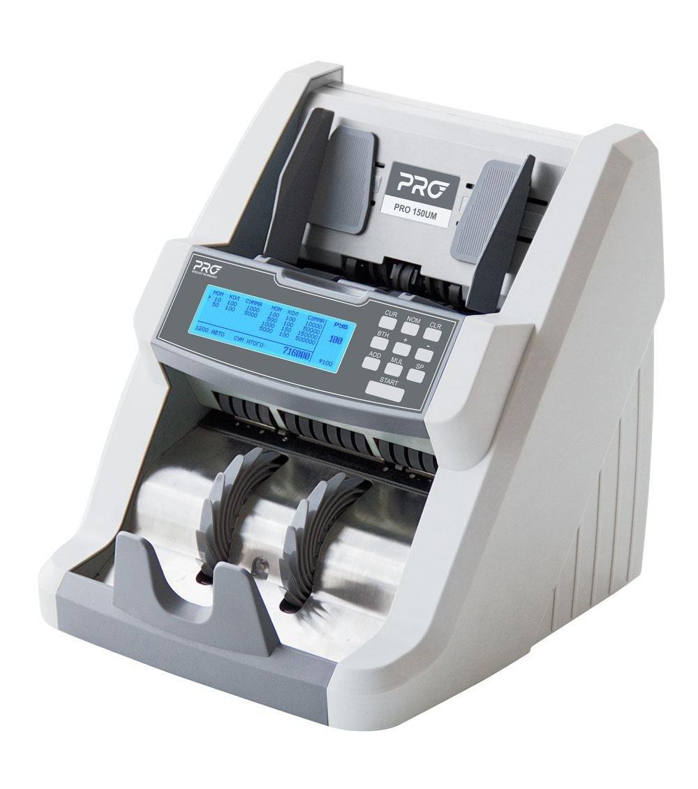 Профессиональный счетчик банкнот с суммированием по номиналам PRO 150CL