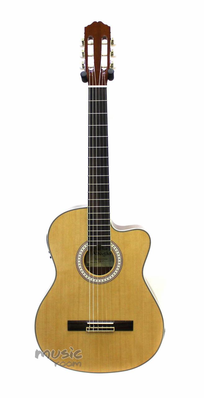 Электроклассическая гитара Adagio MDC3970CE