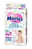 MERRIES Подгузники для детей размер L 9-14 кг