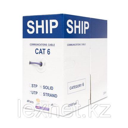 Кабель сетевой, SHIP, D165A-L, Cat.6, UTP, 4x2x1/0.574мм, LSZH, 305 м/б (Огнеупорный, Отличается низким дымовы, фото 2