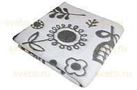 Одеяло (байковое) жаккардовое