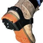 Ледоходы Насадка противоскользящая (пятка) каблук шипы 5+5 шипов - фото 2