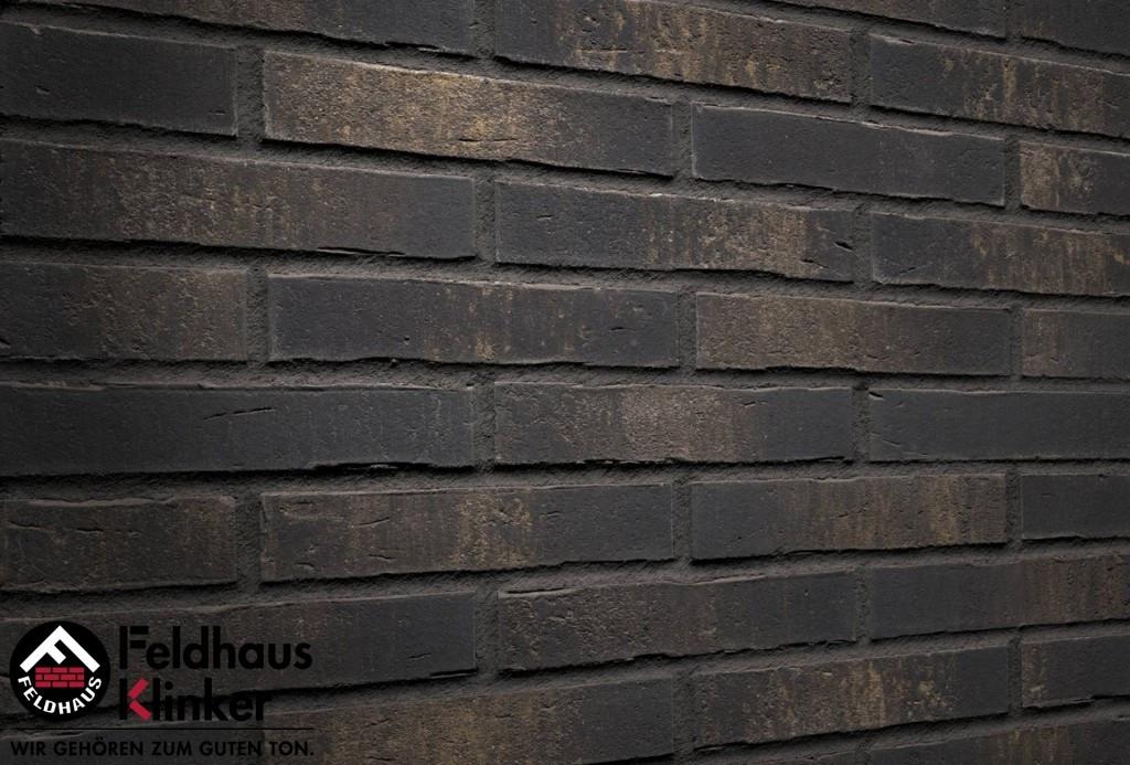 """Клинкерная плитка """"Feldhaus Klinker"""" для фасада и интерьера R738 vascu vulcano sola"""