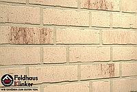 """Клинкерная плитка """"Feldhaus Klinker"""" для фасада и интерьера R742 vascu crema petino, фото 1"""