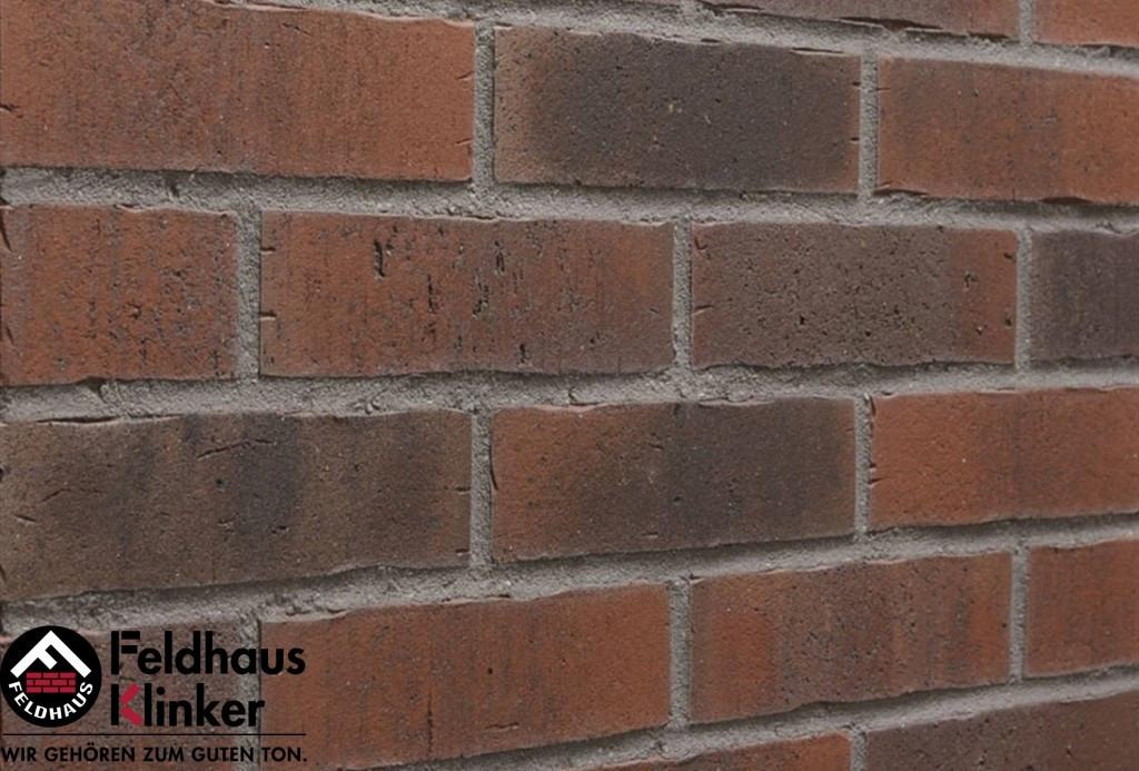 """Клинкерная плитка """"Feldhaus Klinker"""" для фасада и интерьера R743 vascu ardor flores"""