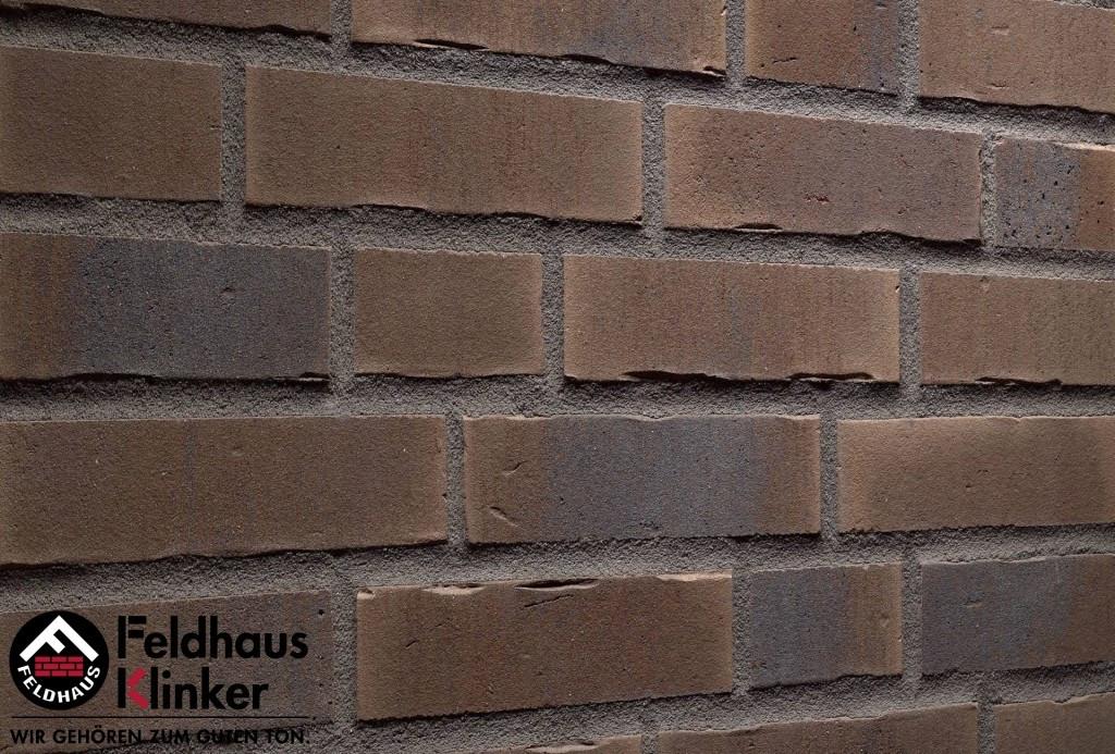 """Клинкерная плитка """"Feldhaus Klinker"""" для фасада и интерьера R745 vascu geo venito"""