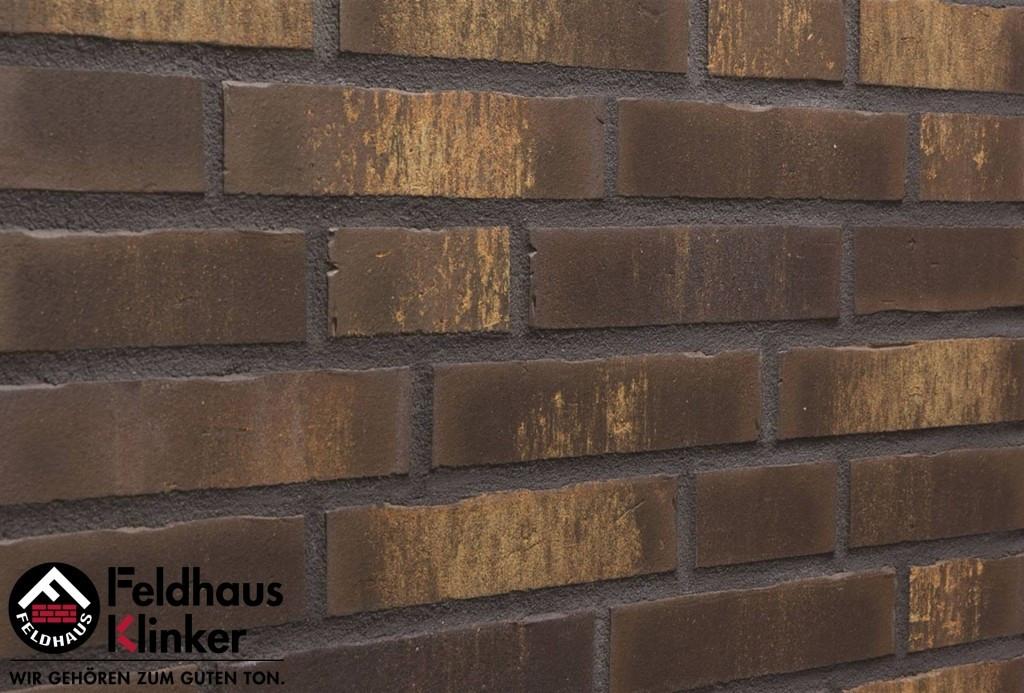 """Клинкерная плитка """"Feldhaus Klinker"""" для фасада и интерьера R747 vascu geo legoro"""