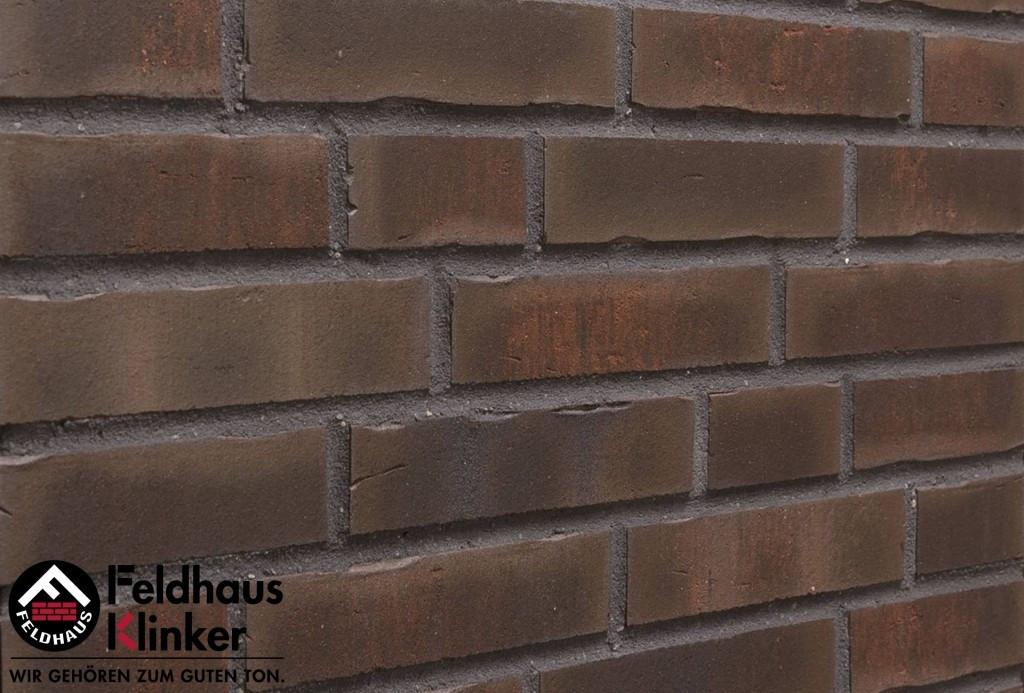 "Клинкерная плитка ""Feldhaus Klinker"" для фасада и интерьера R748 vascu geo merleso"