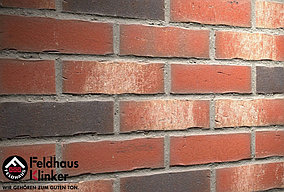 """Клинкерная плитка """"Feldhaus Klinker"""" для фасада и интерьера R750 vascu ardor rotado"""