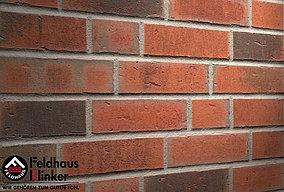 """Клинкерная плитка """"Feldhaus Klinker"""" для фасада и интерьера R752 vascu ardor carbo"""