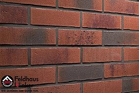"""Клинкерная плитка """"Feldhaus Klinker"""" для фасада и интерьера R754 vascu carmesi carbo"""