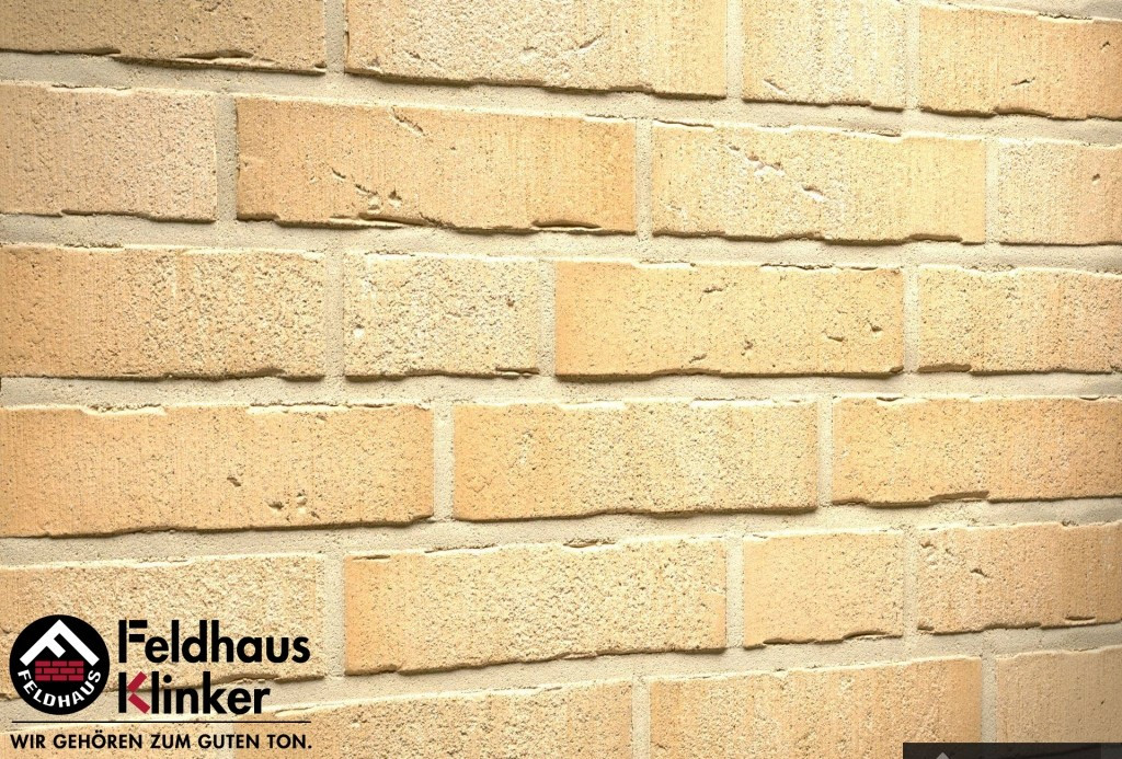 """Клинкерная плитка """"Feldhaus Klinker"""" для фасада и интерьера R756 vascu sabiosa bora"""