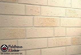 """Клинкерная плитка """"Feldhaus Klinker"""" для фасада и интерьера R757 vascu perla linara"""