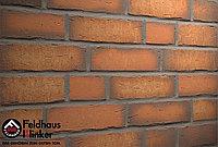 """Клинкерная плитка """"Feldhaus Klinker"""" для фасада и интерьера R758 vascu terracotta calino, фото 1"""