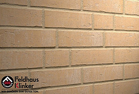 """Клинкерная плитка """"Feldhaus Klinker"""" для фасада и интерьера R762 vascu sabiosa blanca"""