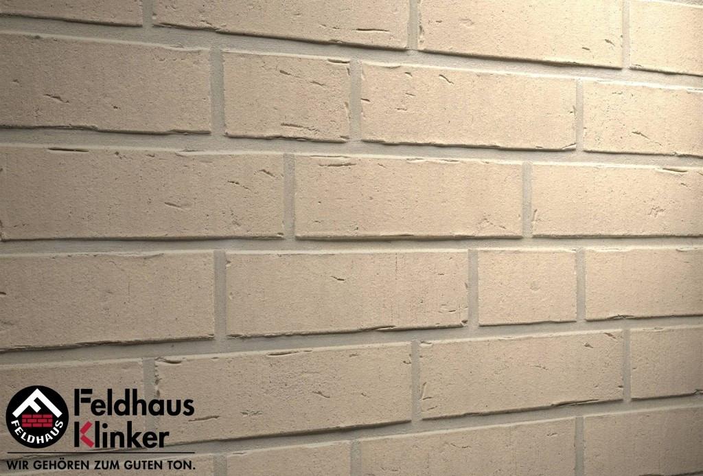 """Клинкерная плитка """"Feldhaus Klinker"""" для фасада и интерьера R763 vascu perla"""