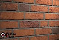 """Клинкерная плитка """"Feldhaus Klinker"""" для фасада и интерьера R765 vascu terracotta finoto, фото 1"""