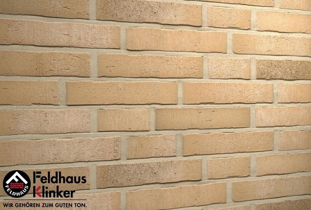 """Клинкерная плитка """"Feldhaus Klinker"""" для фасада и интерьера R766 vascu sabiosa rotado"""