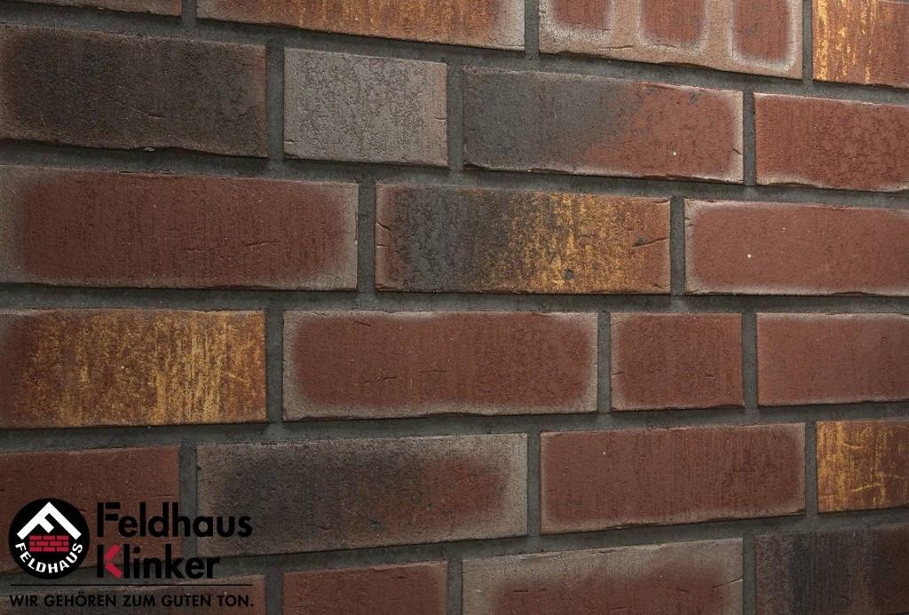 """Клинкерная плитка """"Feldhaus Klinker"""" для фасада и интерьера R769 vascu cerasi legoro"""
