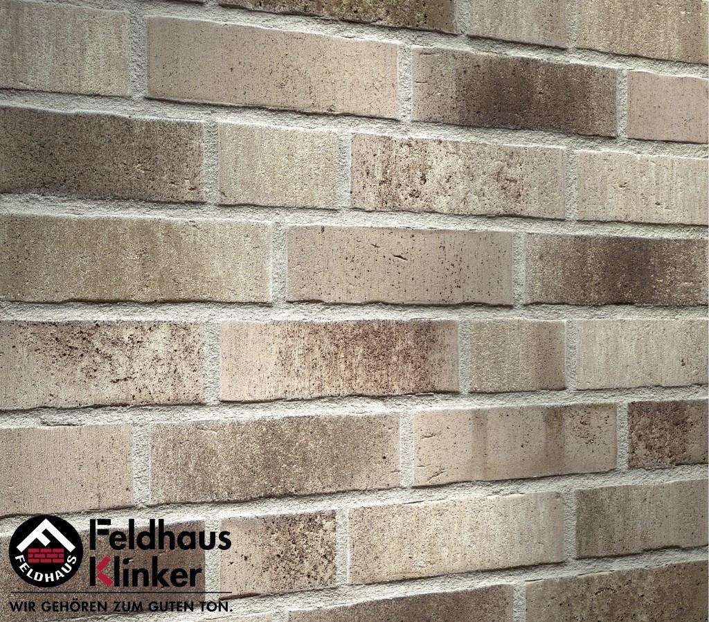 """Клинкерная плитка """"Feldhaus Klinker"""" для фасада и интерьера R773 vascu"""
