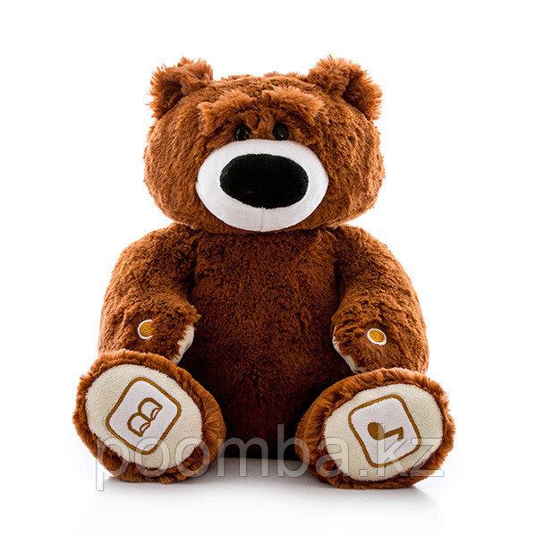 Интерактивный плюшевый медведь Luv'n Learn, коричневый