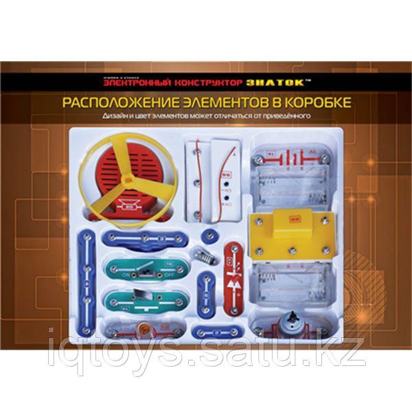 Конструктор ЗНАТОК 34С-Znat Первые шаги в электронике C 34 схемы