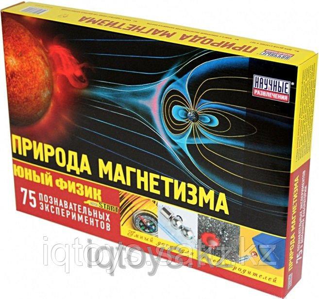НАУЧНЫЕ РАЗВЛЕЧЕНИЯ НР00036 Набор Юный физик Start. Природа магнетизма
