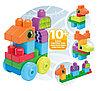 """Конструктор Mega Bloks """"Маленькие строители"""" - Животные, 20 деталей"""