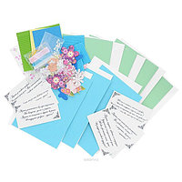 Набор для создания открыток Белоснежка Аквамарин, 6 шт