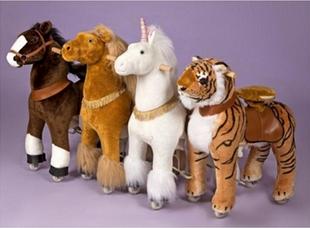 Механические лошадки Понициклы (Ponycycle)