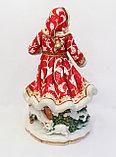 Статуэтка Дед Мороз. Ручная работа, Италия, фото 3